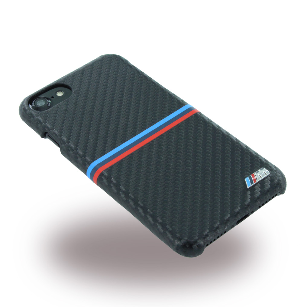 BMW BMHCP7MSSCA Carbon Inspiration Hard Cover Phone Case Apple iPhone 7 Black 118317 4 17552 3